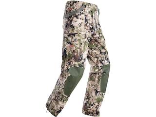 Sitka Gear Men's Stormfront Uninsulated Rain Pants Polyester Gore Optifade Subalpine Camo Large