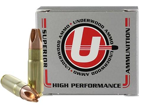 Underwood Ammunition 458 SOCOM 302 Grain Lehigh Xtreme Penetrator Lead-Free Box of 20