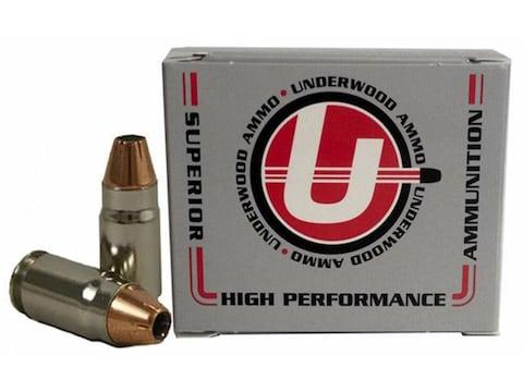 Underwood Ammunition 357 Sig 147 Grain Hornady XTP Jacketed Hollow Point Box of 20