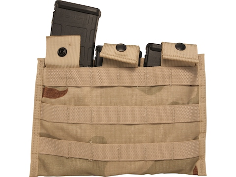 Military Surplus MOLLE II AR-15 Triple Magazine Pouch Nylon