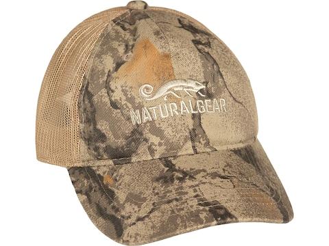 Natural Gear Mesh Trucker Cap Polyester