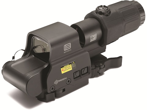 EOTech EXPS2-0 Holographic Hybrid Sight II 68 MOA Circle with 1 MOA Dot Green Reticle w...