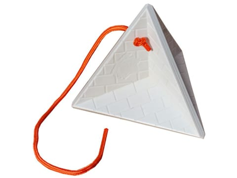 Do-All Impact Seal Self Healing Target Great Pyramid Polymer White