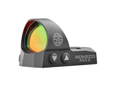 Sig Sauer ROMEO3 MAX Reflex Sight 1x30mm 1 MOA Adjustments MOA Dot Black