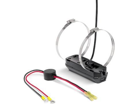 Humminbird Trolling Motor Transducer Helix MEGA DI+ Dual Spectrum CHIRP with Temperatur...