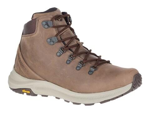 Merrell Ontario Mid Hiking Boots Full-Grain Leather Men's