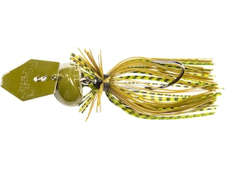 Z-Man Chatterbait Freedom CFL Bladed Jig Green Pumpkin 3/4 oz