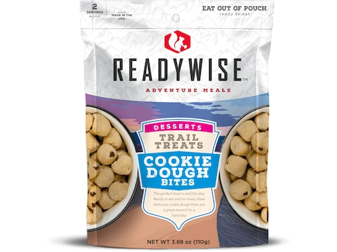 ReadyWise Trail Treats Cookie Dough Bites Freeze Dried Food