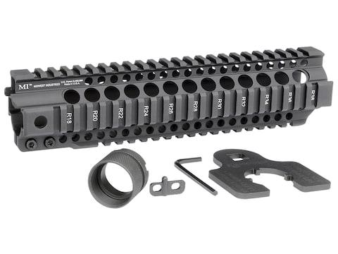 Midwest Industries Combat Rail T-Series Free Float Quad Rail Handguard AR-15 Aluminum B...