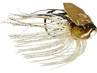 BOOYAH Melee Bladed Jig Golden Shiner Gold Blade 3/8 oz
