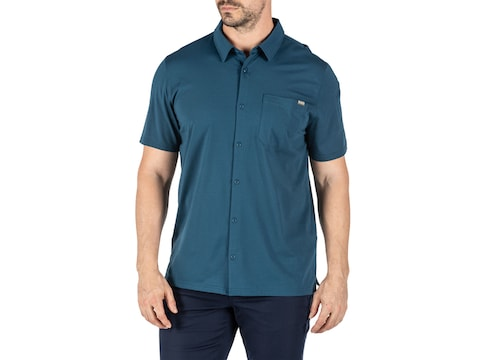 5.11 Men's Venture Short Sleeve Shirt Pima Cotton/Polyester