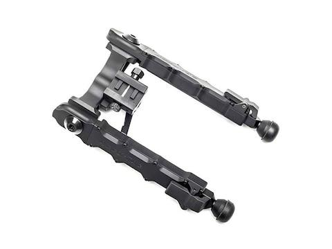 "Accu-Tac HD-50 Bipod Picatinny Rail Mount 7"" to 10"" Aluminum Black"