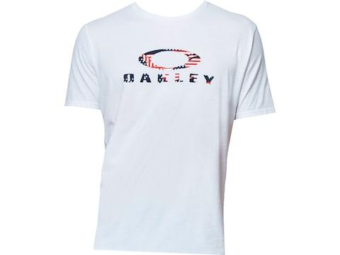 Oakley Men's USA Flag Ellipse Short Sleeve Shirt