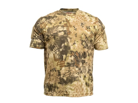 Kryptek Men's Stalker Short Sleeve T-Shirt Cotton