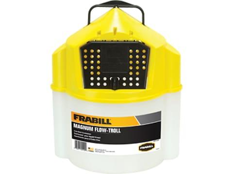 Frabill Magnum Flow Troll Bait Bucket