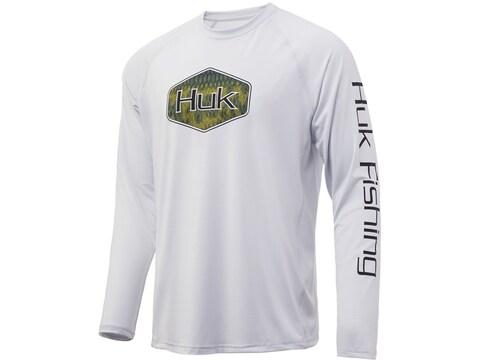 Huk Men's Bass Badge Long Sleeve T-Shirt