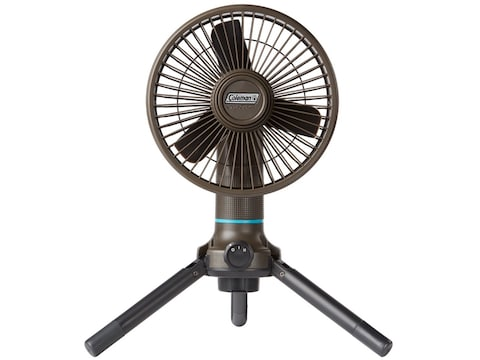 Coleman ONESOURCE Portable Fan with Rechargeable Li-Ion Battery Black