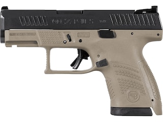 "CZ-USA P-10 S 9mm Luger Semi-Automatic Pistol 3.5"" Barrel Flat Dark Earth 12-Round"