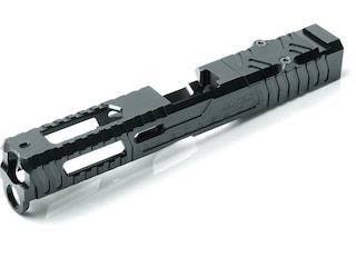LANTAC Razorback Slide Light Glock 17 Gen 4 Stainless Steel Black