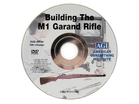 "American Gunsmithing Institute (AGI) Video ""Build an M1 Garand from a Parts Kit"" DVD"