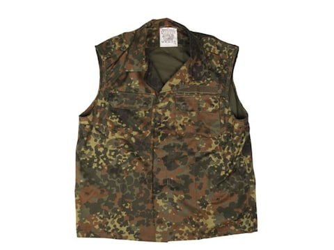 Military Surplus German Combat Vest Flectar Camo
