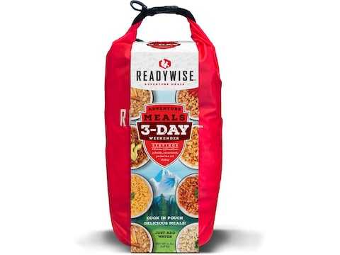 ReadyWise 3 Day Adventure Freeze Dried Food Kit with Dry Bag