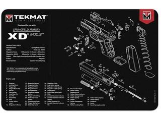 Tekmat Handgun Springfield XD Mod 2 Cleaning Mat Black