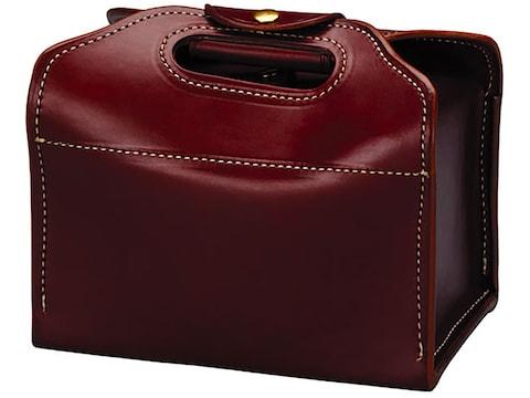 Triple K 125 Deluxe Shot Shell Carrier Leather Walnut Oil