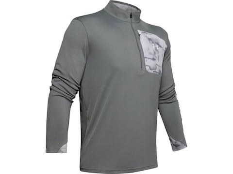 Under Armour Men's Iso-Chill Shore Break 1/2 Zip Long Sleeve Polyester
