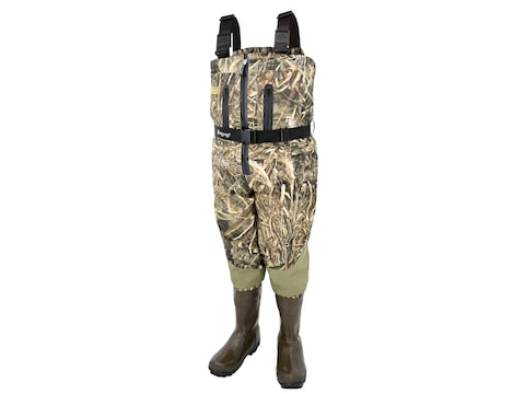Frogg Toggs Grand Refuge 2.0 Zip-Front Insulated Chest Wader Nylon/Polyester
