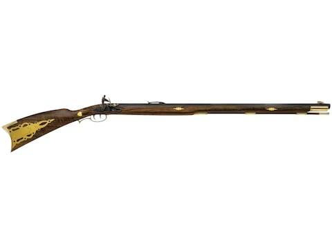 "Traditions Pennsylvania Muzzleloading Rifle 50 Caliber Flintlock 33.5"" Blued Barrel Wal..."