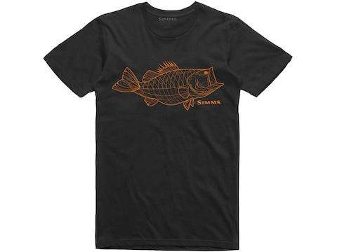 Simms Men's Bass Line CX T-Shirt