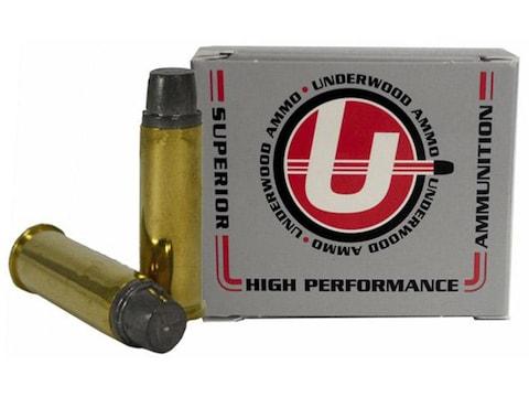 Underwood Ammunition 41 Remington Magnum 230 Grain Lead Keith-Type Semi-Wadcutter Gas C...
