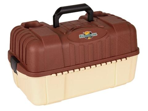 Flambeau Hip Roof 7-Tray Tackle Box Terra Cotta/Cream