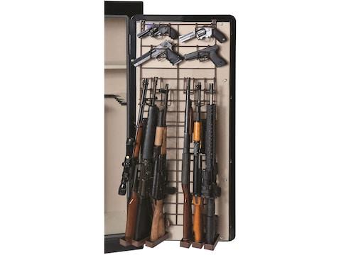 Rack'Em Racks The Maximizer Full Door 6 Rifle, 10 Pistol Rack Black