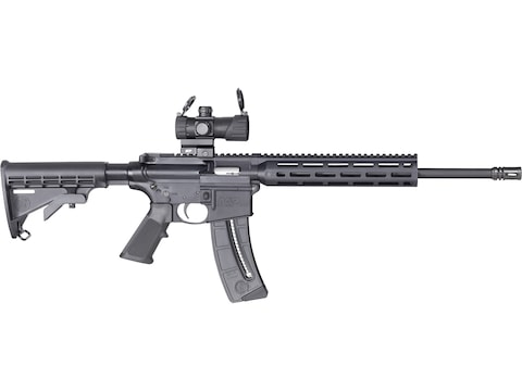 "Smith & Wesson M&P15-22 Sport OR 22 Long Rifle Semi-Automatic Rifle 16.5"" Barrel 25 + 1..."