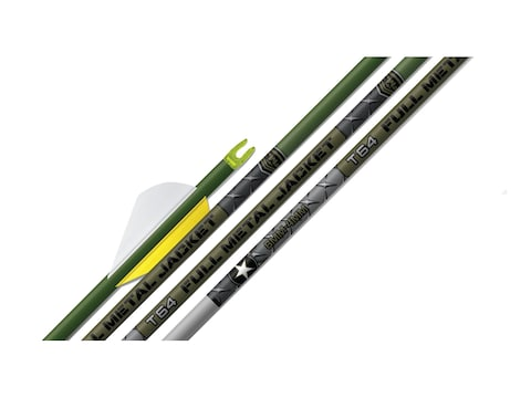Easton T64 Full Metal Jacket Carbon and Aluminum Shaft Pack of 12