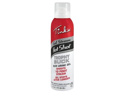Tink's Gel Stream Hot Shot Trophy Buck Deer Scent 5 oz Aerosol