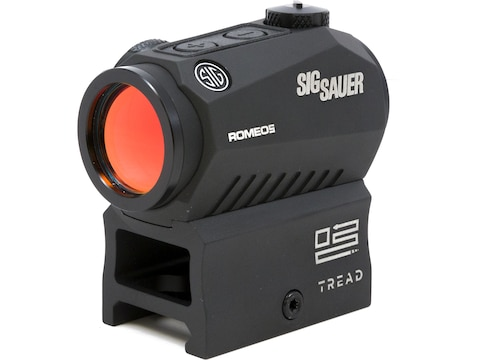 Sig Sauer ROMEO5 Compact Red Dot Sight 1x 20mm 1/2 MOA Adjustments 2 MOA Dot Reticle Pi...