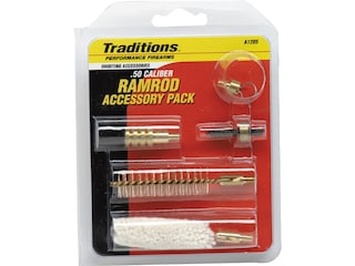 Traditions Ramrod Accessories Pack 50 Caliber 10x32 Threads