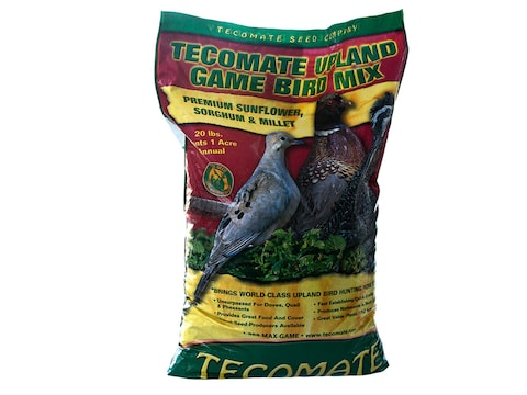 Tecomate Upland Gamebird Mix Annual Food Plot Seed 20 lb