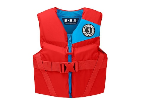 Mustang Survival Rev Youth Life Jacket Imperial Red