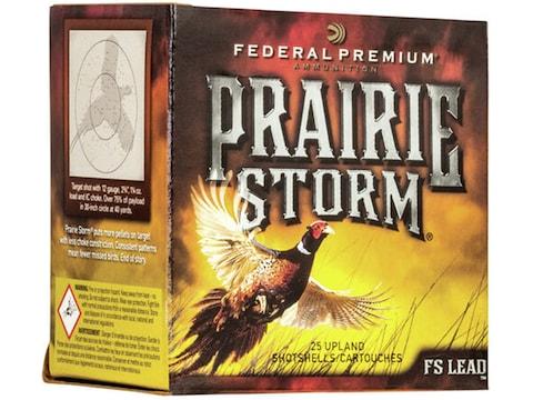 "Federal Premium Prairie Storm Ammunition 28 Gauge 2-3/4"" 1 oz #6 Copper Plated Shot Box..."