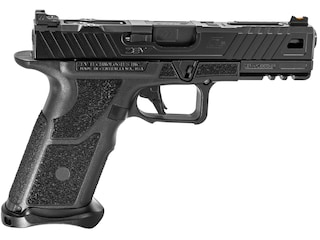 "ZEV Technologies OZ9 Elite Standard Pistol 9mm Luger 4.49"" Black Barrel 17-Round Black Slide, Black Frame"