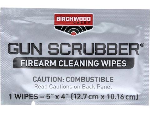 Birchwood Casey Gun Scrubber Take-Alongs Gun Cleaning Wipes Pack of 12