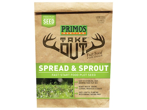 Primos Take Out Spread & Sprout Food Plot Seed 5 lb Bag