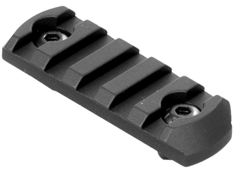 CMMG 5-Slot Picatinny Rail Section Aluminum Black