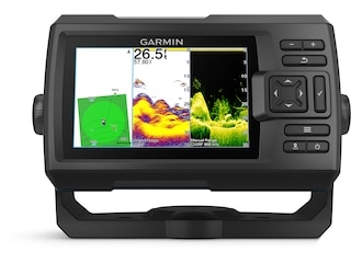 Garmin STRIKER Vivid 5cv CHIRP SideVu Worldwide Base Map Fish Finder