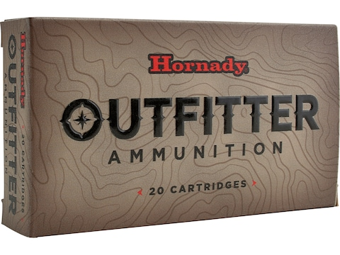 Hornady Outfitter Ammunition 300 Remington Ultra Magnum 180 Grain GMX Lead-Free Box of 20