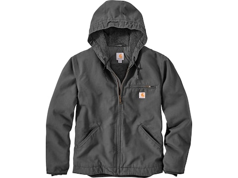 Carhartt Men's Washed Duck Sherpa Lined Jacket